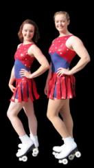 Bella Kinetica - Roller skating circus cabaret entertainers rollerskaters