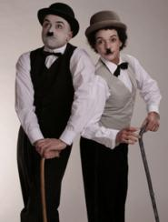 Chaplin Electric Cabaret - Human statues - Living Statues - Entertainers