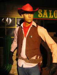 Cowboy Electric Cabaret - Human statues - Living Statues - Entertainers
