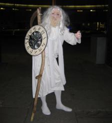 Old father time Electric Cabaret - Human statues - Living Statues - Entertainers