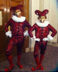 Jesters Electric Cabaret - Human statues - Living Statues - Entertainers