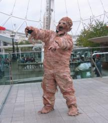 Mummy Electric Cabaret - Human statues - Living Statues - Entertainers