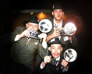 Paparazzi - Electric Cabaret - Human statues - Living Statues - Entertainers