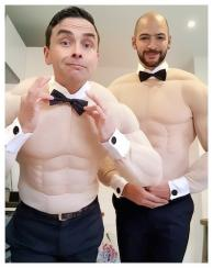 Chippendales Electric Cabaret - Human statues - Living Statues - Entertainers