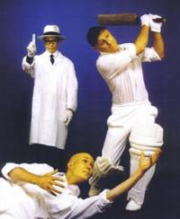 Cricketers Electric Cabaret - Human statues - Living Statues - Entertainers