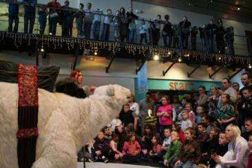 Bjorn the Polar Bear - Walkabout Roaming Entertainer