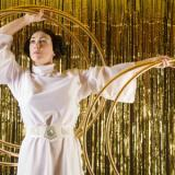 Princess Leia and the The Rings of Saturn - Hula Hoop - Circus Cabaret Act