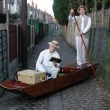 Punt - Roaming Street Boat - Walkabout Entertainers