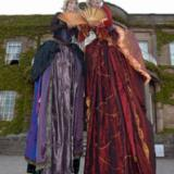 Rum BaBa's Madame Ovary - Renaissance Ladies on Stilts - Stilt Walkers