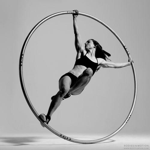 Entertaining and Highly Skilled Cyr Wheel Performer - Cabaret Performer