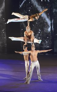 Acro-polis - Sports Gymnastic Acrobatic Entertainers Cabaret Show Performers