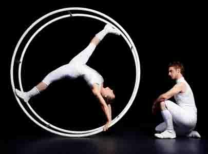 Acrojou's Lifted - German Wheel Acrobatic Act - Circus cabaret Entertainers