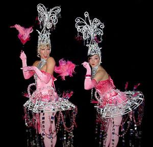 Bolli's Chandelier Starlets - Roaming Entertainers