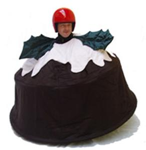 Fudge's Christmas Pudding - Motorised Talkative Dessert Superhero - Walkabout