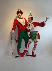 Mr & Mrs Christmas - Seasonal Walkabout Entertainers