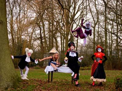 The Madness of Alice - Circus Wonderland Show and Walkabout Entertainers