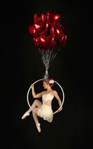 Dream Hoops - Aerial Hoops - Cabaret Circus Entertainer